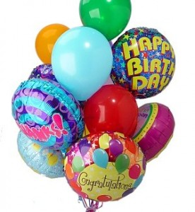 balloons - latex and mylar helium balloons